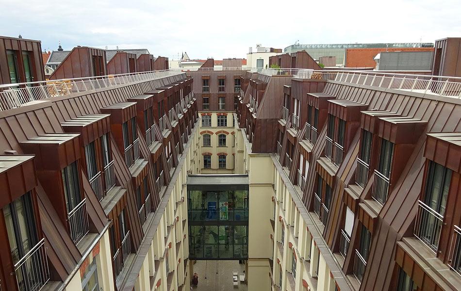 New building Oelßners Hof in Leipzig