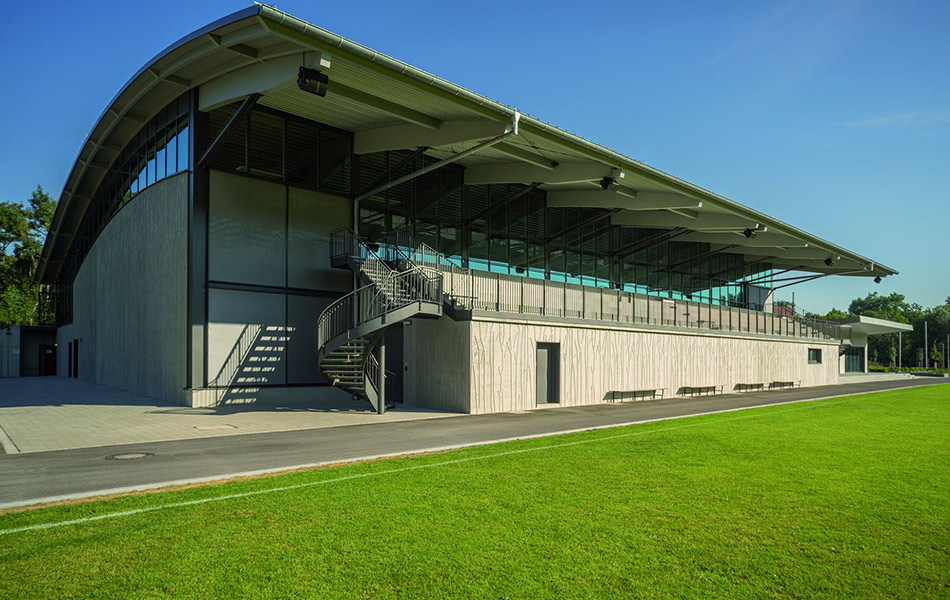 New building Auwald Sports Centre Gundremmingen