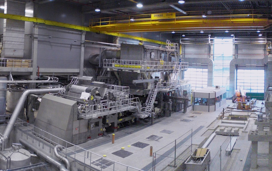 New construction of tissue machine in Krapkowice, Poland