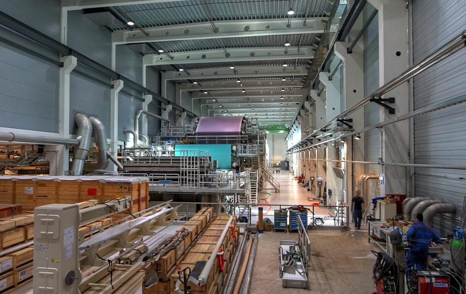 Paper mill PM2 of Pöls AG