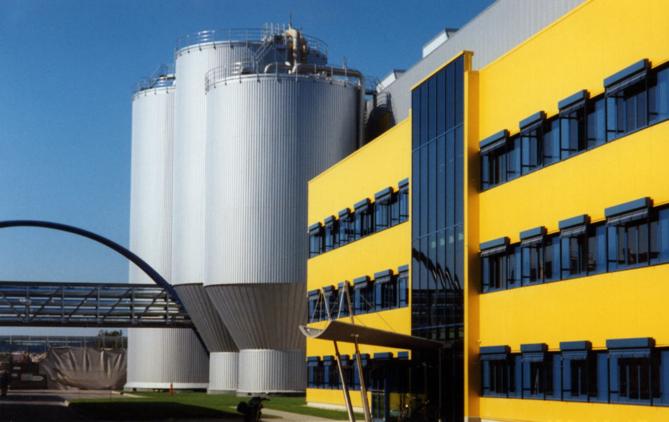 New construction of the PM5 paper mill in Ettringen