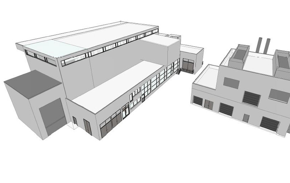 New building BHKW
